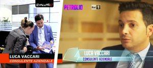 Luca Vaccari Rai tv ballaro petrolio